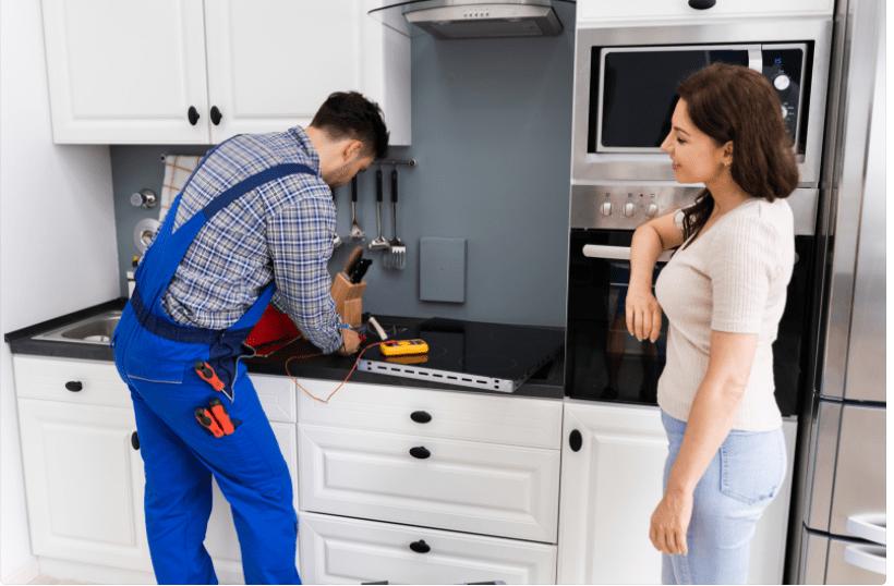 reparação de fogão e fornos