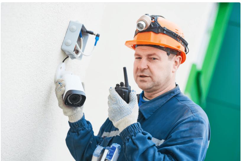 reparação e instalação de camaras de segurança